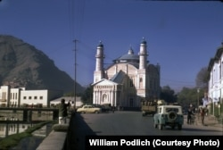 The Shah-Do Shamshira Mosque, near the Kabul River