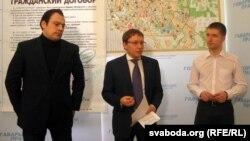 Праект прэзэнтуюць Міхась Пашкевіч, Андрэй Дзьмітрыеў і Юры Салодкі.