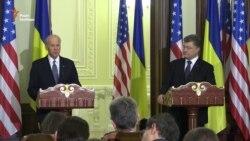 Віце-президент США: Америка стоїть пліч-о-пліч із народом України (відео)