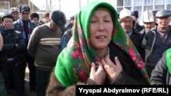 Замира Акимова, жительница города Ош, 26 марта 2012 года.