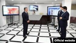 Президент Ш. Мирзиёевнинг Андижондаги технопаркка ташрифи, 2020 йил 21 майи.