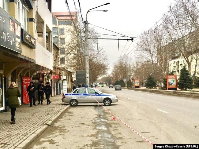 На проспекте Расула Гамзатова ждут гостей из Москвы