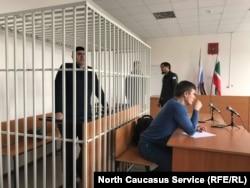 Оюб Титиев в суде в Грозном