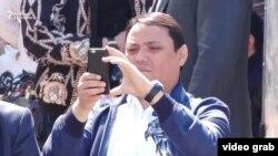 Райымбек Матраимов. Фото сделано 1 мая во время мероприятия, организованного братьями Матраимовыми в Кара-Сууйском районе.