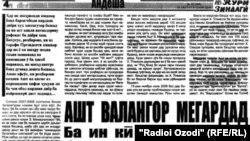Мақолаи Исмоилов