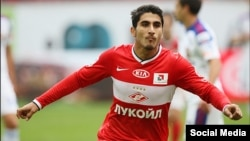 Armenian international Aras Ozbiliz has previously plied his trade at Dutch club Ajax Amsterdam. (file photo)