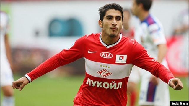 Armenian international Aras Ozbiliz has previously plied his trade at Dutch club Ajax Amsterdam. (file photo)