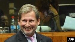 Комесарот за преговори за проширување на Европската унија Јоханес Хан