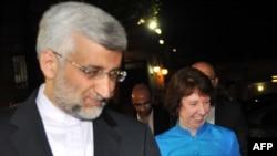 دیدار سعید جلیلی، مذاکره کننده ارشد هستهای ایران و کاترین اشتون، مسئول سیاست خارجی اتحادیه اروپا در ترکیه- ۲۸ شهریور ۱۳۹۱