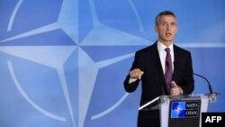 НАТОнун баш катчысы Йенс Столтенберг, Брюссель, 2-декабрь, 2014.
