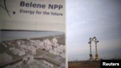 Macaralele la stația de construcție a celei de-a doua centrale nucleare din Bulgaria, Belene