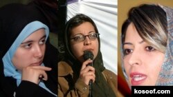 درميان زنان یازداشت شده چهره های مختلفی از روزنامه نگاران، نويسندگان و فعالين حوزه زنان ديده می شوند.