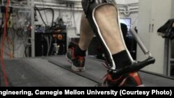 Рassive-elastic ankle exoskeleton
