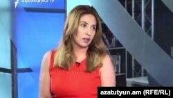 Лидер партии «Еркир цирани» Заруи Постанджян (архив)