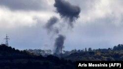 Արցախ - Ադրբեջանական զինուժը հրետակոծում է Շուշին, հոկտեմբեր, 2020թ.