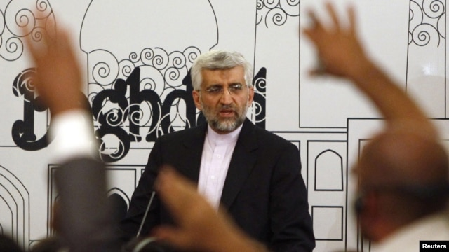 Iran's chief nuclear negotiator Said Jalili, pictured in May