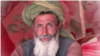 An old man from Badghis displaced due by drought