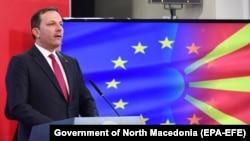 Şimali Makedoniyanın Baş naziri Oliver Spasovski