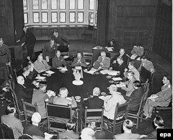 Відкриття Потсдамської конференції, 17 липня 1945 року