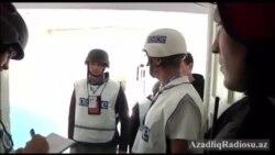 Donetskdə məktəbə düşən bombalardan 4 nəfər həlak olub