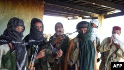 Taliban militants in the Orakzai tribal agency (file photo)