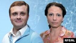 Юлія і Сергій Льовочкіни