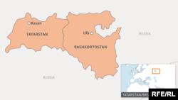 Tatar/Bashkir map