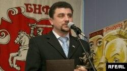Кіраўнік абласной партыйнай арганізацыі Зьміцер Салаўёў.