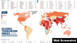 ایران از نظر تلفات و خسارات تروریسم در رتبۀ ۴۷ در طیف کشورهایی قرار گرفته است که آسیب کمتری از تروریسم دیده اند