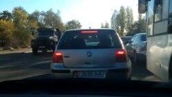 По встречке. Л.Толстого-Чапаева