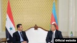 Suriya Prezidenti Bashar Assad Bakıda həmkarı İlham Əliyevlə görüşür, 8 iyul 2009