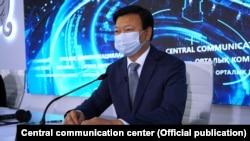 Алексей Цой, министр здравоохранения Казахстана.