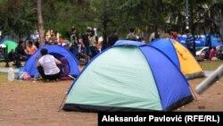 Серби - Шемара мигранташ Белградехь, 23Мар2015