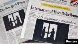 """WikiLeaks"" internet saýty tarapyndan ýaýradylan gizlin dokumentler halkara metbugaty aýaga galdyrdy."