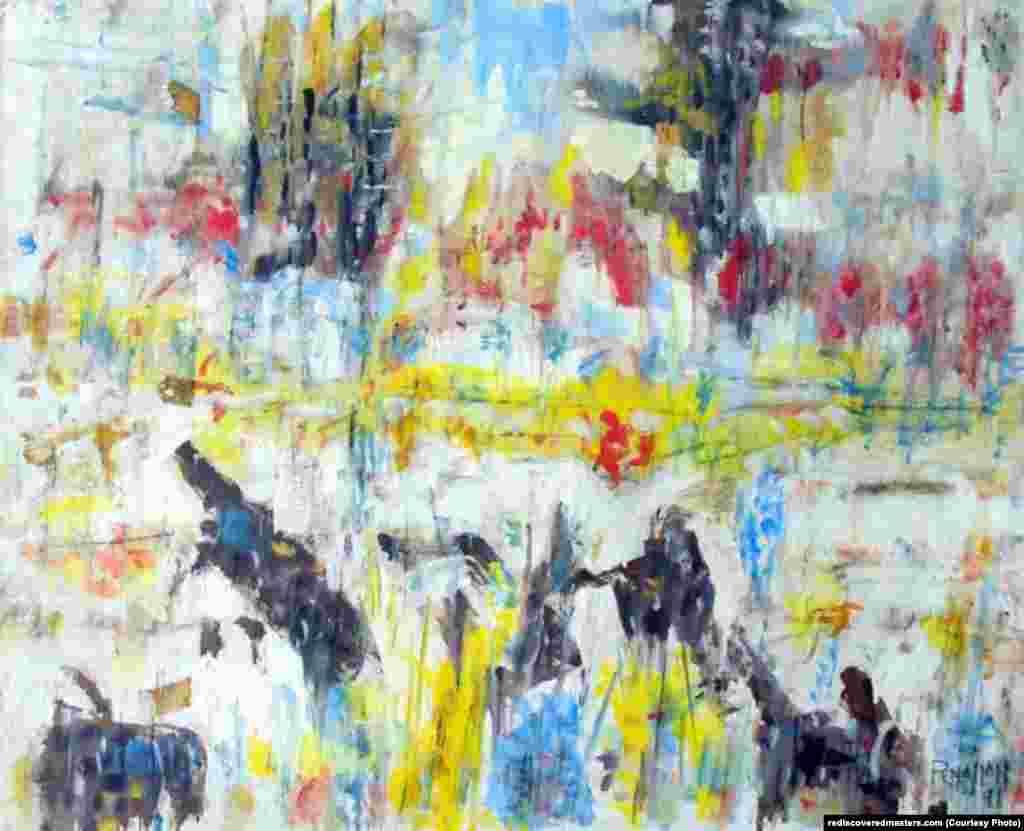 Untitled landscape, Bellport, NY (1991)