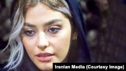 Iranian actress Reyhaneh Parsa, undated.