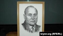 Портрет Виктора Ковальчука (рисунок неизвестного художника)