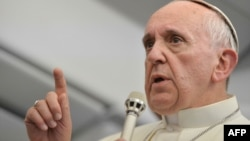 Глава католической церкви Папа Римский Франциск.