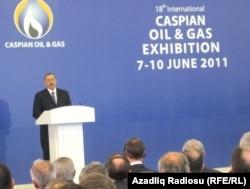 Участники международной нефтегазовой выставки в Баку. Иллюстративное фото.