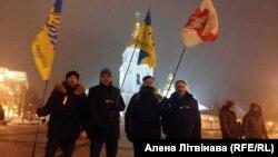 Учасники маршу, В'ячеслав Сівчик – крайній праворуч