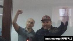 Талгат Аян жана Макс Бокаев сотто.