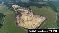 Баницьке родовище у Глухівському районі на Сумщині