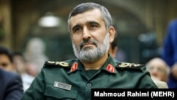 AmirAli Hajizadeh, IRGC's Aerospace Force Commander. File photo