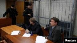 Адвокати Сергія Магнітського у залі суду, 22 березня 2013 року