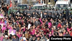 Эътирози тибетиҳо дар музофоти Гзиаҳе Гансу (Чин), 14-уми марти соли 2008