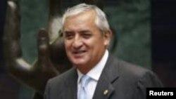 Прэзыдэнт Гватэмалы Ота Пэрэса Маліна