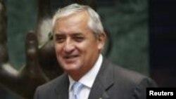 Гватемаланың отставкаға кеткен президенті Отто Перес Молина.
