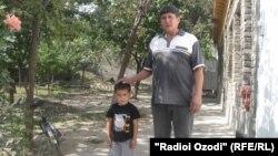 Ёсинхон Эшонов, отец жителя села Чоркишлок Ёкубджона Эшонова