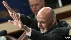 Ашраф Гани в Конгрессе США