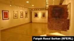 جانب من معرض الفن العراقي في عمّان